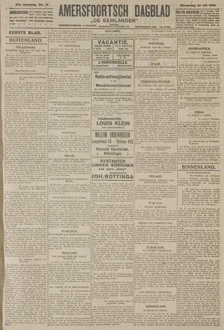 Amersfoortsch Dagblad / De Eemlander 1925-07-22