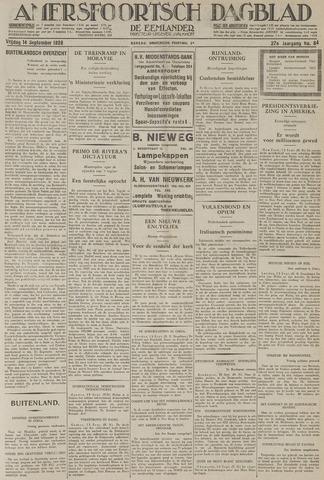 Amersfoortsch Dagblad / De Eemlander 1928-09-14