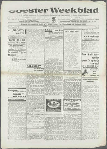 Soester Courant 1938-09-30