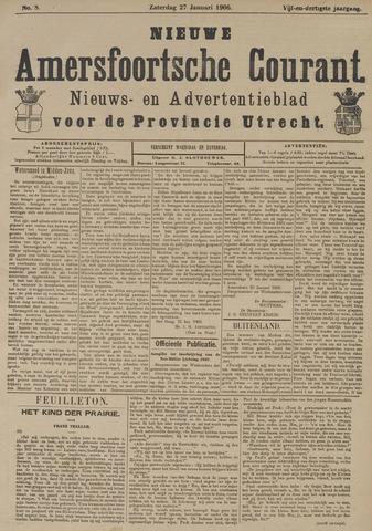 Nieuwe Amersfoortsche Courant 1906-01-27