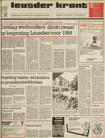 Leusder Krant 1987-10-15