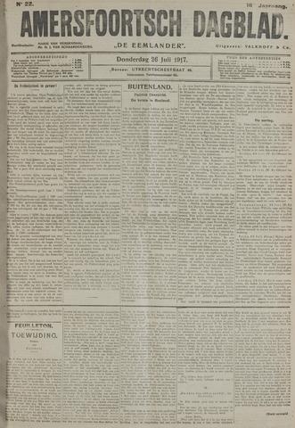 Amersfoortsch Dagblad / De Eemlander 1917-07-26