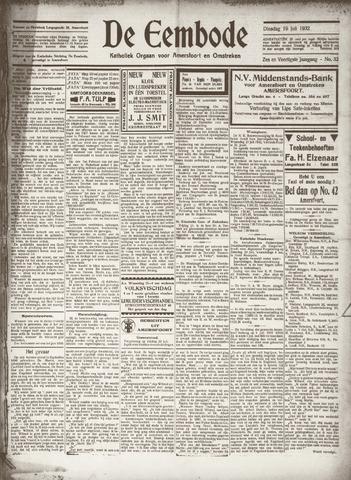 De Eembode 1932-07-19