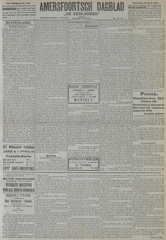 Amersfoortsch Dagblad / De Eemlander 1922-04-12