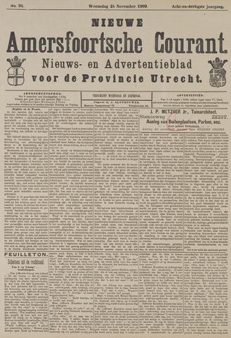 Nieuwe Amersfoortsche Courant 1909-11-24