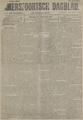 Amersfoortsch Dagblad / De Eemlander 1917-09-29