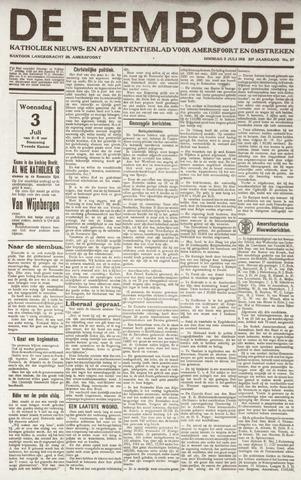 De Eembode 1918-07-02