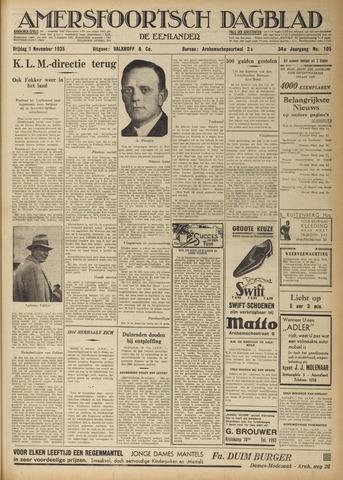Amersfoortsch Dagblad / De Eemlander 1935-11-01