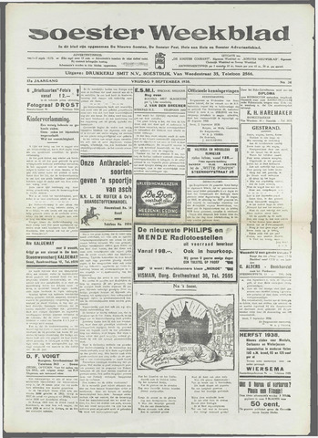 Soester Courant 1938-09-09
