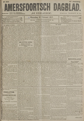 Amersfoortsch Dagblad / De Eemlander 1917-02-26
