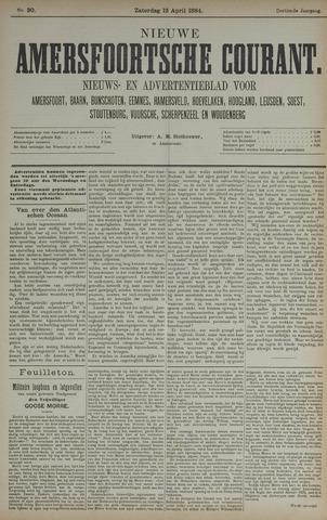 Nieuwe Amersfoortsche Courant 1884-04-12