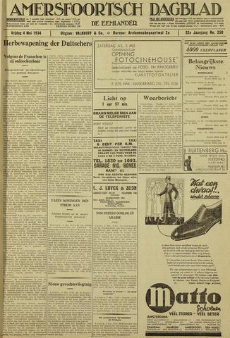 Amersfoortsch Dagblad / De Eemlander 1934-05-04