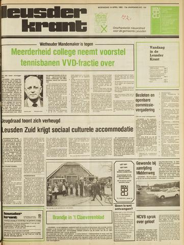 Leusder Krant 1982-04-13