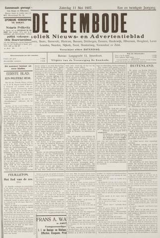 De Eembode 1907-05-11