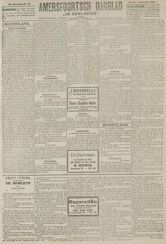 Amersfoortsch Dagblad / De Eemlander 1922-09-01