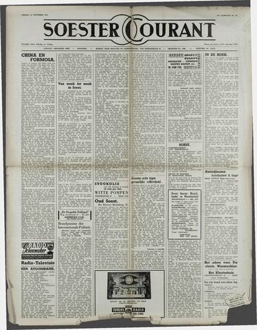 Soester Courant 1954-11-12