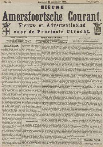 Nieuwe Amersfoortsche Courant 1919-11-15