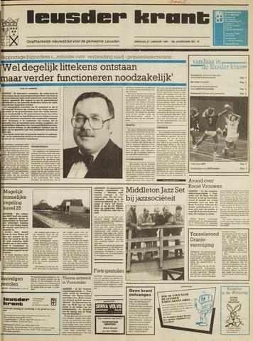 Leusder Krant 1987-01-27