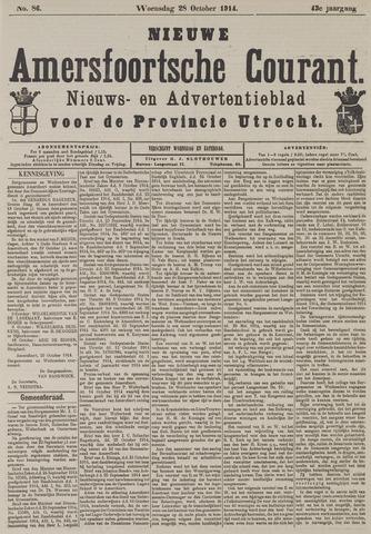 Nieuwe Amersfoortsche Courant 1914-10-28