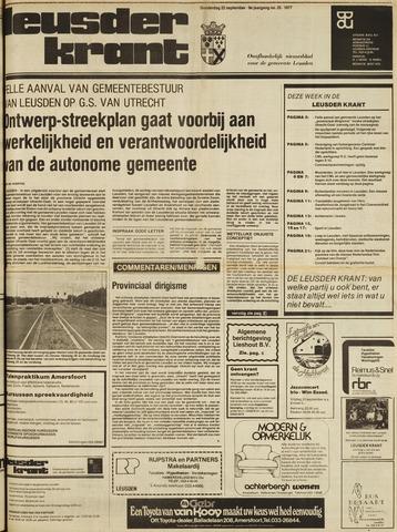 Leusder Krant 1977-09-22