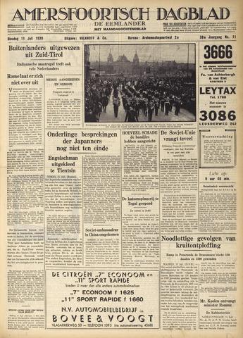 Amersfoortsch Dagblad / De Eemlander 1939-07-11