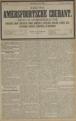 Nieuwe Amersfoortsche Courant 1884-07-05