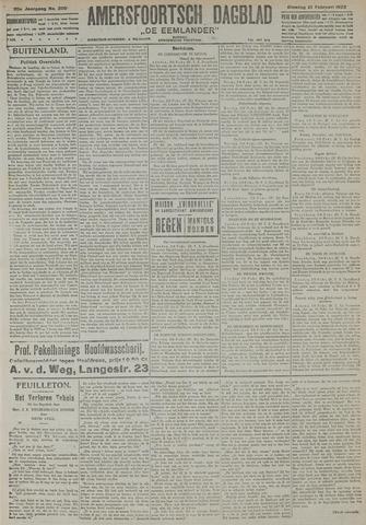 Amersfoortsch Dagblad / De Eemlander 1922-02-21