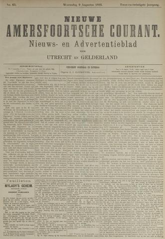 Nieuwe Amersfoortsche Courant 1893-08-09