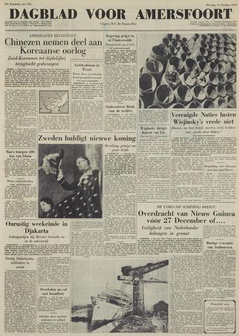 Dagblad voor Amersfoort 1950-10-31