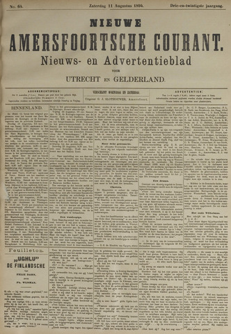 Nieuwe Amersfoortsche Courant 1894-08-11