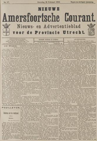 Nieuwe Amersfoortsche Courant 1910-02-26