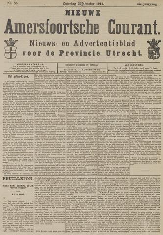 Nieuwe Amersfoortsche Courant 1913-10-25