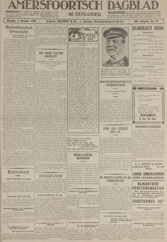 Amersfoortsch Dagblad / De Eemlander 1931-10-06