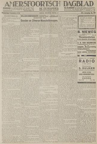 Amersfoortsch Dagblad / De Eemlander 1928-11-01