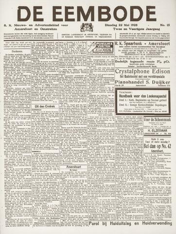 De Eembode 1928-05-22