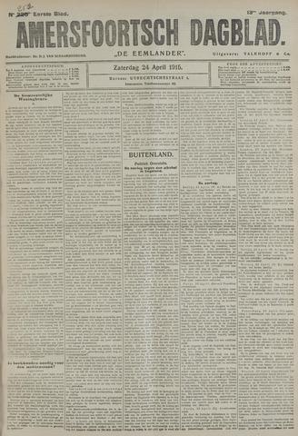 Amersfoortsch Dagblad / De Eemlander 1915-04-24