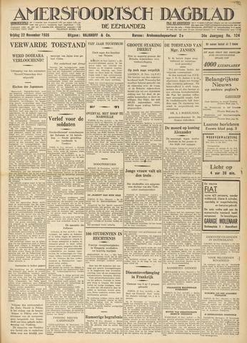 Amersfoortsch Dagblad / De Eemlander 1935-11-22