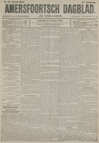 Amersfoortsch Dagblad / De Eemlander 1913-10-04
