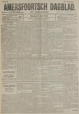 Amersfoortsch Dagblad / De Eemlander 1916-04-18
