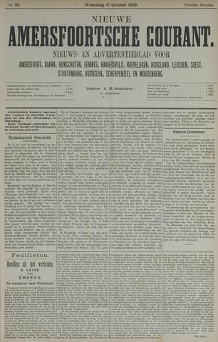 Nieuwe Amersfoortsche Courant 1883-10-17