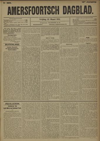Amersfoortsch Dagblad 1912-03-22