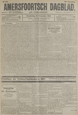 Amersfoortsch Dagblad / De Eemlander 1916-11-23