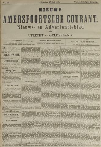 Nieuwe Amersfoortsche Courant 1895-07-27