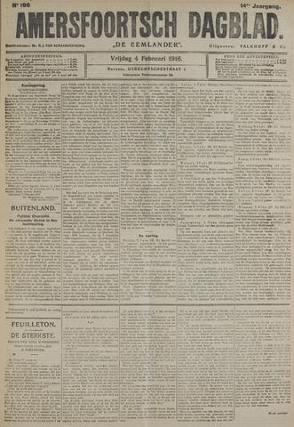 Amersfoortsch Dagblad / De Eemlander 1916-02-04