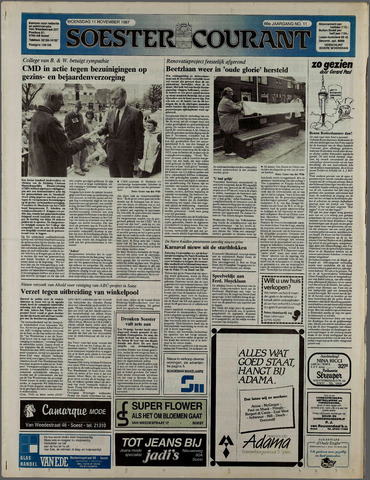 Soester Courant 1987-11-11