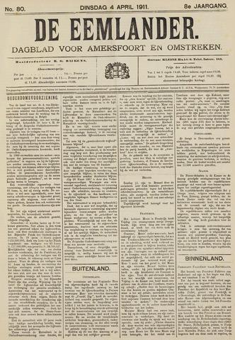 De Eemlander 1911-04-04