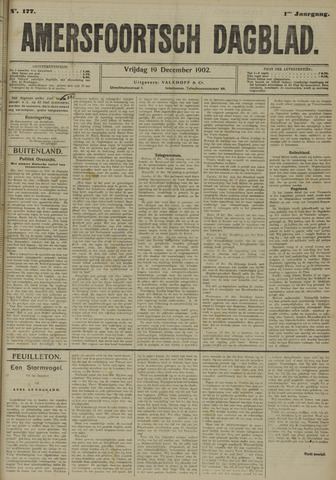 Amersfoortsch Dagblad 1902-12-19