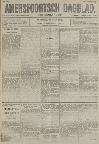 Amersfoortsch Dagblad / De Eemlander 1915-03-10