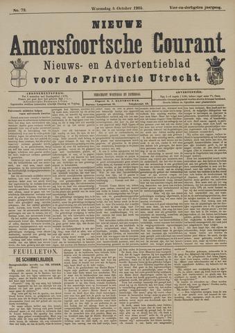 Nieuwe Amersfoortsche Courant 1905-10-04
