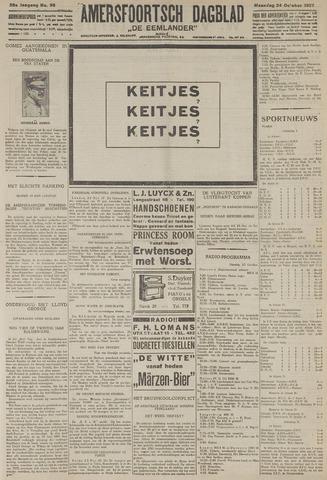 Amersfoortsch Dagblad / De Eemlander 1927-10-24